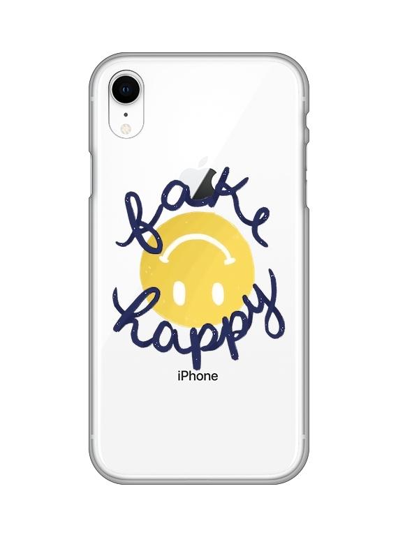 CASELAND | Fake Happy maskica za iPhone XR